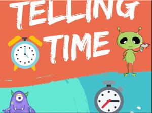 تعليم الساعة للاطفال بالانجليزية