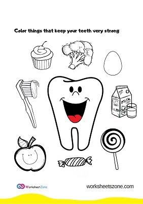 أوراق عمل صحة الاسنان
