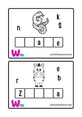 اسماء الحيوانات بالانجليزي مع الصور للأطفال