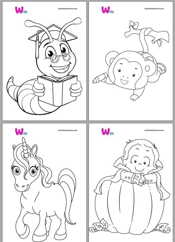 تحميل كراسة تلوين للاطفال pdf